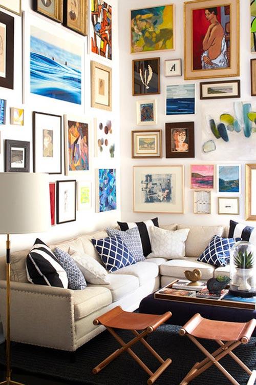 15 mẹo thiết kế và bài trí phòng khách nhỏ - 3