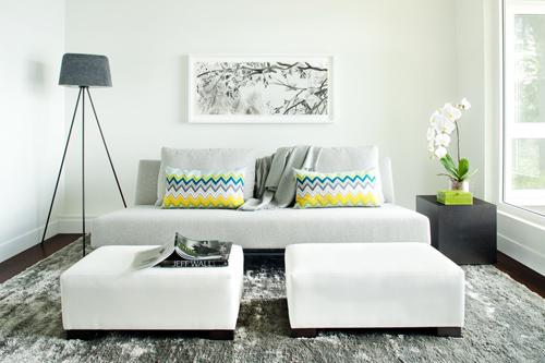 15 mẹo thiết kế và bài trí phòng khách nhỏ - 6