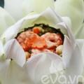 Bếp Eva - Cơm hấp lá sen: Món ngon mùa hạ