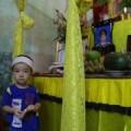 Lặng người trước lời cháu bé 3 tuổi mất bố