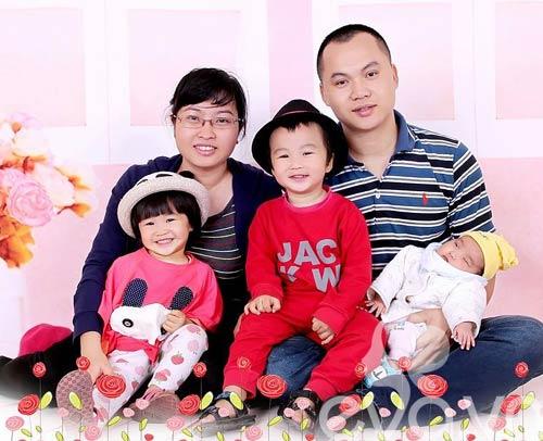 me 3 con hanh phuc sau 5 lan thu tinh nhan tao - 1