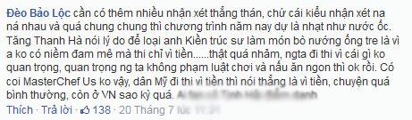 """khan gia """"doa"""" khong xem masterchef viet vi co ha tang - 3"""