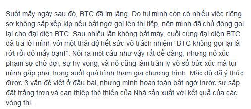 """btc masterchef """"dap tat"""" tinh yeu nau nuong? - 5"""