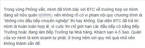 """btc masterchef """"dap tat"""" tinh yeu nau nuong? - 3"""