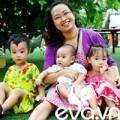 Bà bầu - Mẹ 3 con hạnh phúc sau 5 lần thụ tinh nhân tạo