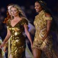 Thời trang - Thời trang tình bạn: Kate Moss và Naomi Campbell