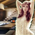 Nhà đẹp - Nhà gỗ mộc mạc, tránh nóng tuyệt vời