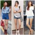 Thời trang - Mặc sooc jeans cạp cao cùng 5 gợi ý thú vị