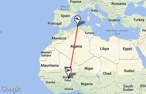 may bay algeria cho 116 nguoi da roi o niger - 2