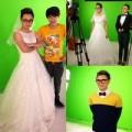 Làng sao - Trúc Nhân mặc váy cô dâu trong MV mới