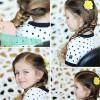 4 kiểu tóc chống nóng cho bé ngày hè