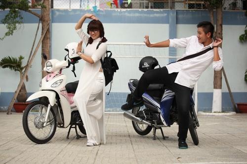 """hoang yen chibi cung me """"nam tien"""" lap nghiep - 7"""