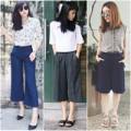 """Thời trang - Tín đồ Việt """"sốt"""" với mốt quần culottes"""