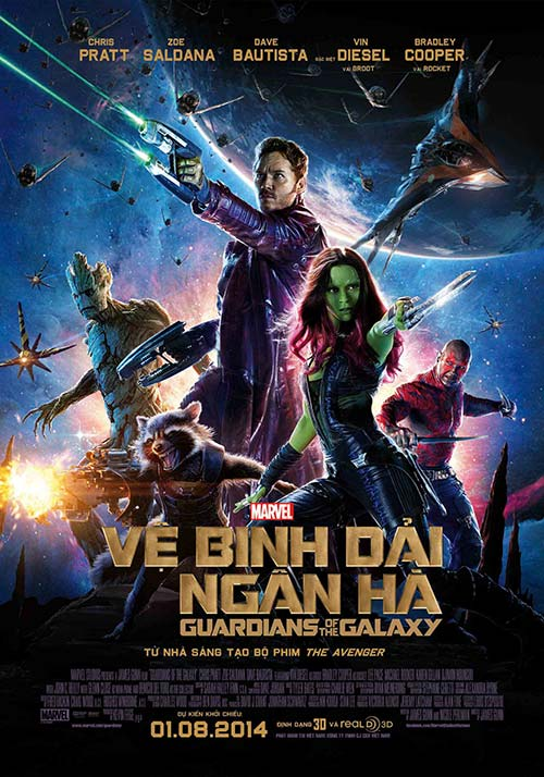 "ca the gioi soi suc voi ""guardians of the galaxy"" - 5"