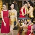Làng sao - HH Ngọc Diễm gợi cảm bên Trần Thị Quỳnh