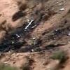 Hình ảnh đầu tiên về hiện trường vụ máy bay Algeria rơi