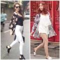 Thời trang - Tuần qua: Hà Hồ mặc áo kimono cực chất