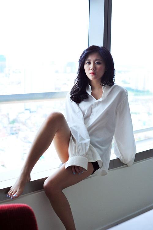 "van mai huong sexy duoi ong kinh ""nguoi yeu"" - 10"