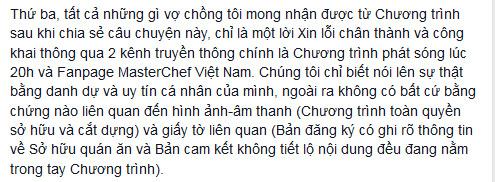 masterchef vietnam: btc phot lo loi xin loi? - 4