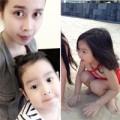 Làm mẹ - Con gái Lưu Hương Giang xinh như lai Tây