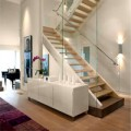 Nhà đẹp - Thiết kế cầu thang kính bền đẹp, sang trọng