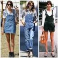 Thời trang - Alexa Chung mê đắm quần yếm ngày hè