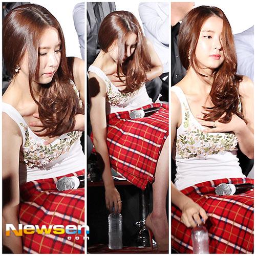 Hoa hậu Honey Lee khoe vòng 1 đẫy đà - 5