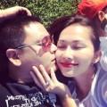 Làng sao - Vợ chồng Kim Hiền lãng mạn đi tuần trăng mật