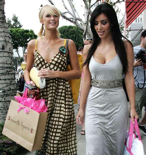 kim kardashian 'que mua' khi la tro ly cua paris hilton - 4