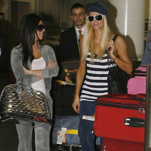 kim kardashian 'que mua' khi la tro ly cua paris hilton - 6