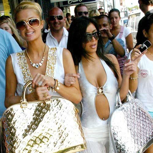kim kardashian 'que mua' khi la tro ly cua paris hilton - 7