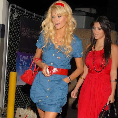 kim kardashian 'que mua' khi la tro ly cua paris hilton - 8