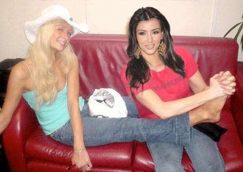 kim kardashian 'que mua' khi la tro ly cua paris hilton - 1