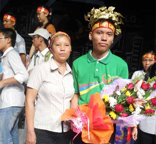 thủ khoa kép vao chung ket duong len dinh olympia - 2
