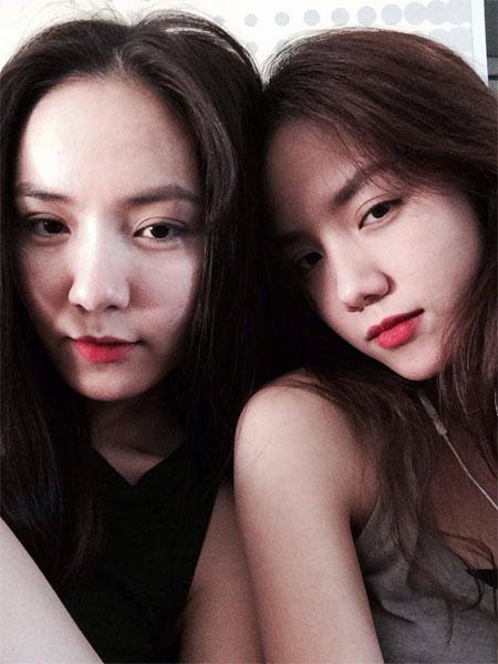 Chị em Phương Linh đẹp tựa Thúy Kiều - Thúy Vân-2