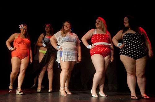 Cuộc thi hoa hậu hội tụ các nàng 'siêu' béo-1