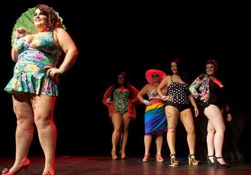 Cuộc thi hoa hậu hội tụ các nàng 'siêu' béo-2