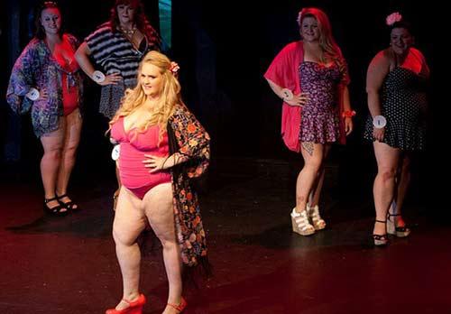 Cuộc thi hoa hậu hội tụ các nàng 'siêu' béo-5