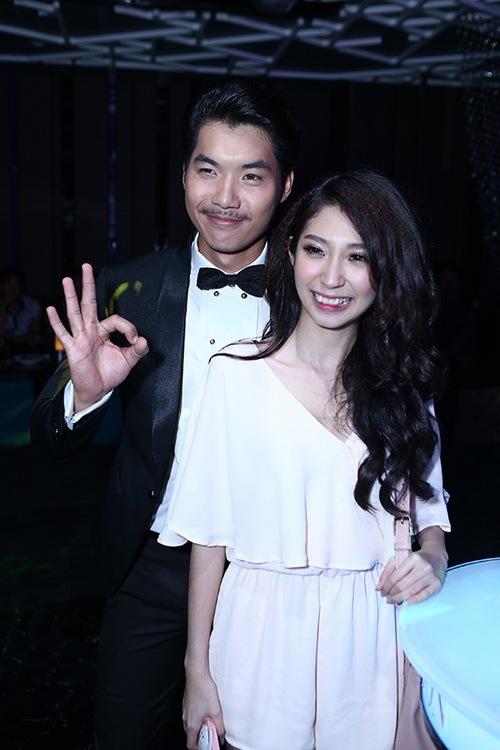 """Khổng Tú Quỳnh """"trốn"""" người yêu đi sự kiện-4"""