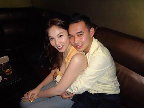 "quynh thu va ban trai gan bo ""nhu hinh voi bong"" - 5"
