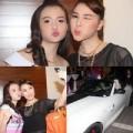 Quỳnh Thư khoe cháu gái trên siêu xe 2,7 tỷ đồng