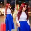 Thời trang - DJ Thúy Khanh mặc sành mốt nổi bật ở sân bay