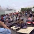 Tin tức - TQ: Hiện trường vụ nổ nhà máy, 65 người chết cháy