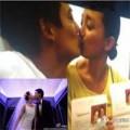 Làng sao - Vợ chồng Châu Tấn khoe chứng nhận kết hôn