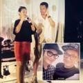 Làng sao - Huỳnh Hiểu Minh tới dự lễ 100 ngày con gái Đại S