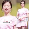 Làng sao - Song Hye Kyo đẹp tinh khôi trong buổi họp báo