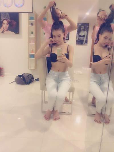 mai phuong thuy khoe vong mot cang tron o bien miami - 13