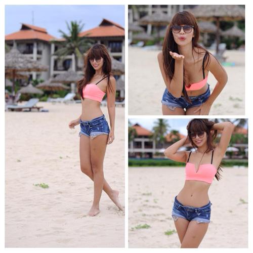 Người đẹp Việt khêu gợi tò mò với bikini sexy - 7