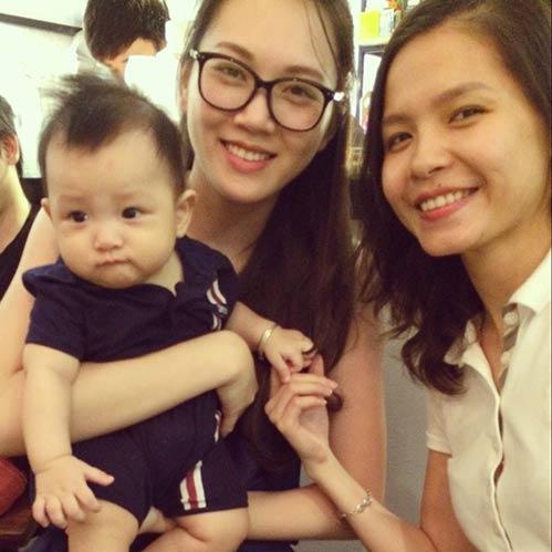 ngoc thach dang mang thai con dau long - 4