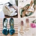 Thời trang - Giày cưới lãng mạn nâng niu gót hồng cô dâu